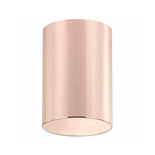 Orlicki design Downlight lampa sufitowa kika rose gold natynkowa oprawa metalowa tuba różowe złoto (1000000471014)