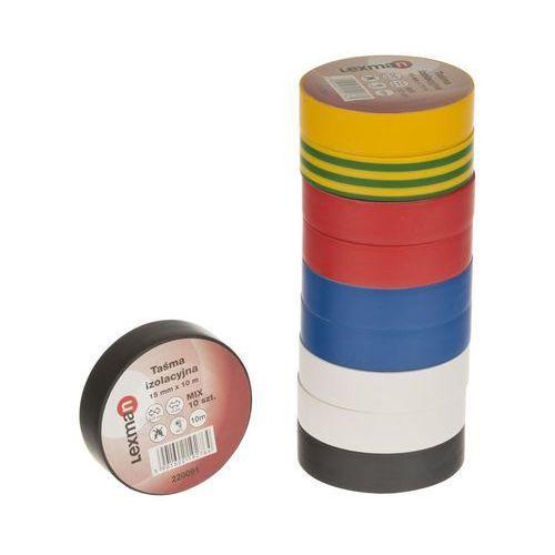 Lexman Taśma izolacyjna 15 mm x 10 m f615992 mix 10szt. (5901602192764)