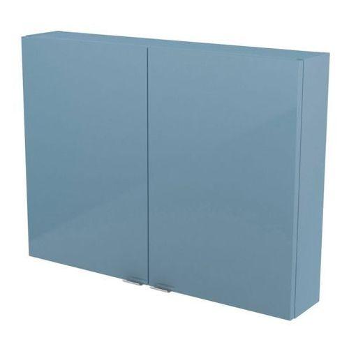 Szafka Imandra 80 x 60 x 15 cm niebieska (3663602933700)