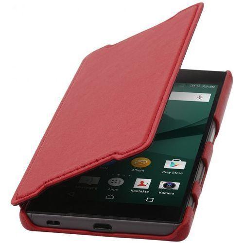 Etui Stilgut Book Sony Xperia Z5 Czerwone - Czerwony