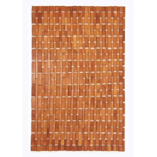 Dywanik łazienkowy bambusowy bonprix naturalny