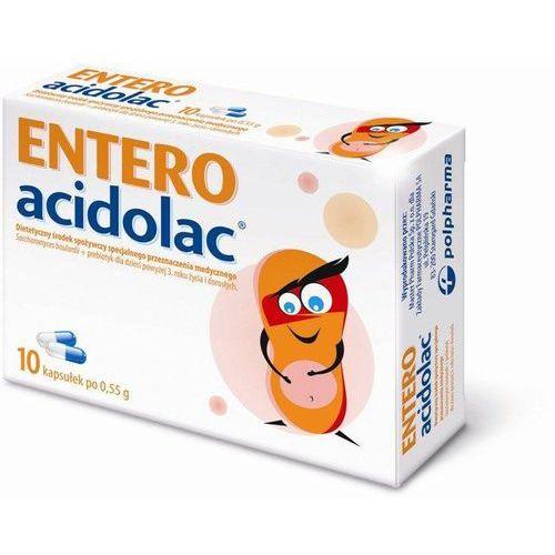 Kapsułki ENTERO ACIDOLAC 500mg x 10 kapsułek