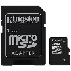 karta pamięci Kingston microSDHC 16GB + adapter SD