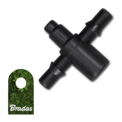 Dwójnik do emiterów i kroplowników wejście 5mm wtyk na wąż 3x5mm Bradas 9975