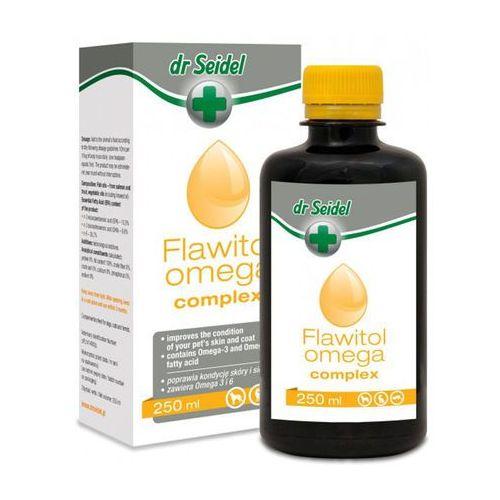 Dermapharm dr seidel flawitol preparat witaminowy dla psów omega complex zdrowa skóra piękna sierść 250 ml