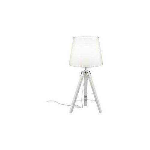 tripod lampa stołowa biały, 1-punktowy - vintage/przemysłowy - obszar wewnętrzny - tripod - czas dostawy: od 3-6 dni roboczych marki Reality