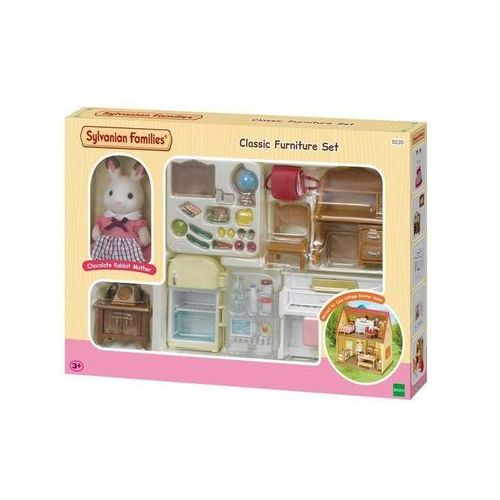 Sylvanian Families Classic Furniture Set (for Cosy Cottage Starter Home)