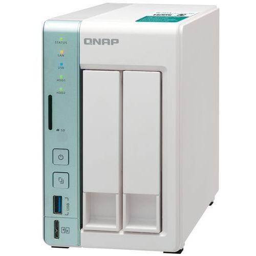 QNAP TS-251A-4G - Intel Celeron N3060 / 4 GB / HDMI / 2 x Gigabit LAN / 2-dyskowy