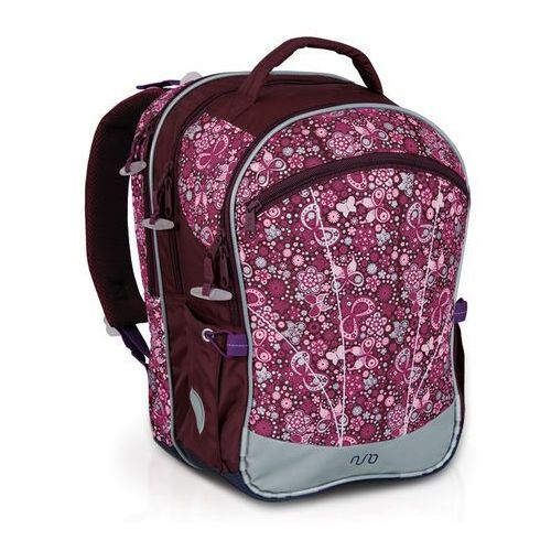 Plecak szkolny nun 201 i - violet marki Topgal