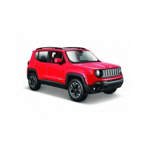 Model metalowy Jeep Renegade 1:24 czerwony