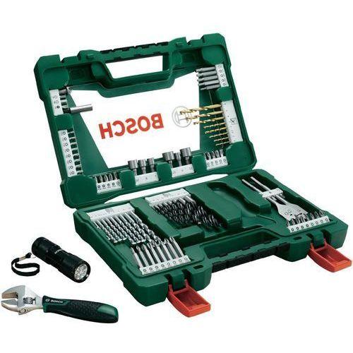 Komplet wierteł uniwersalnych tin 83 szt. v-line 2607017193 marki Bosch accessories