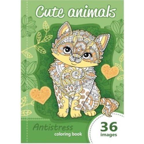 Kolorowanka antystresowa Cute animals