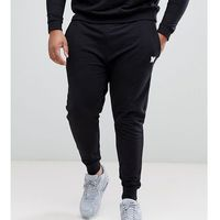 plus skinny joggers in black with small logo - black marki Good for nothing