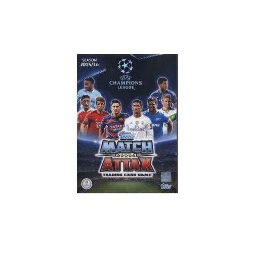 Topps Match Attack Liga mistrzów Album kolekcjonerski na karty (8595582223500)