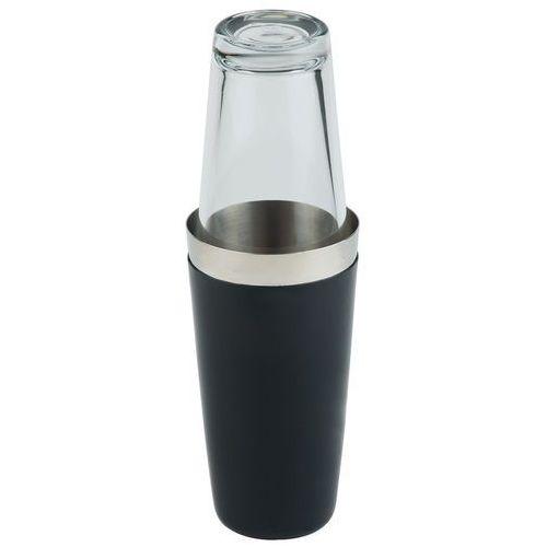 Shaker bostoński ze szklanką 0,7 l, czarny   , 93139 marki Aps