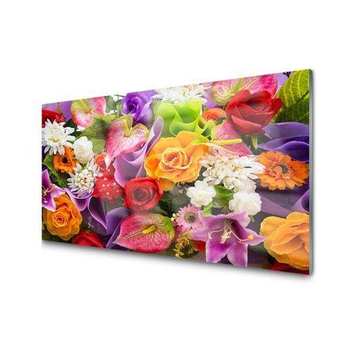 Obraz Akrylowy Kwiaty Na ścianę Cafe Cafe