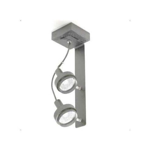 Plafon LAMPA sufitowa GERO 2205/GU5.3/SZ Shilo natynkowa OPRAWA reflektorowa szary, 205/GU5.3/SZ