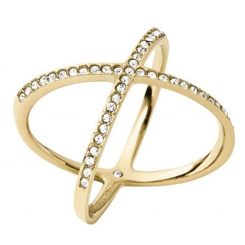 Biżuteria - pierścionek mkj4171710508 rozmiar 8 mkj4171710 marki Michael kors