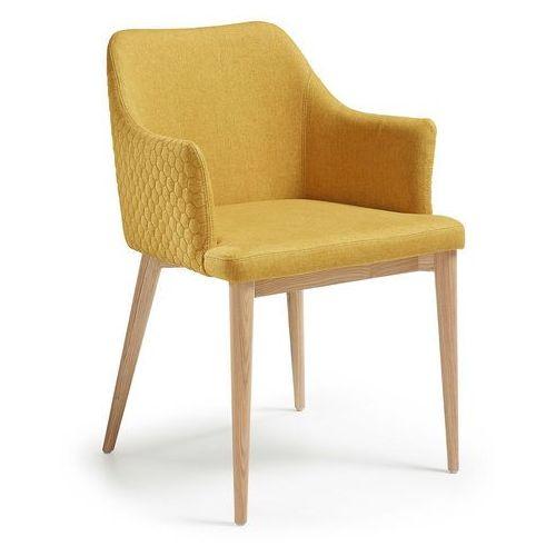 Laforma  :: krzesło danai musztardowe, kategoria: krzesła