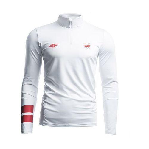 Longsleeve funkcyjny męski Polska Pyeongchang 2018 TSMLF900 - biały, kolor biały