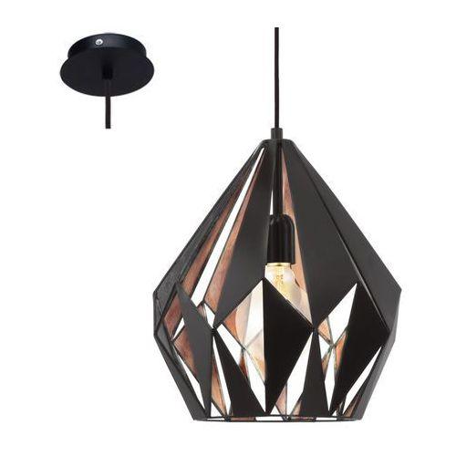 Eglo 49254 - Lampa wisząca VINTAGE 1xE27/60W/230V (9002759492540)