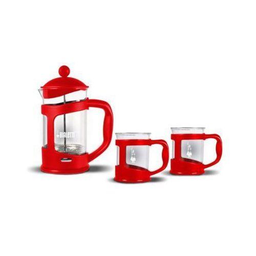 Zestaw BIALETTI Coffee Press Czerwony
