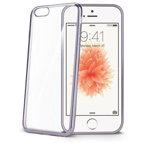Etui CELLY Bumper BCLIPSEDS do iPhone 5/5S/SE Ciemnosrebrny - produkt z kategorii- Futerały i pokrowce do telefonów