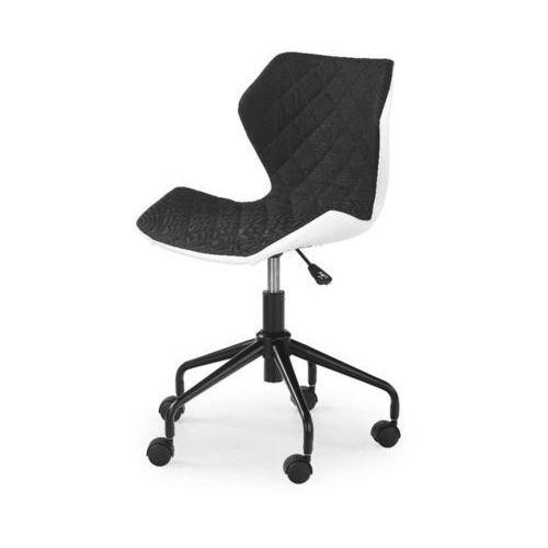 Swage fotel młodzieżowy czarno-biały