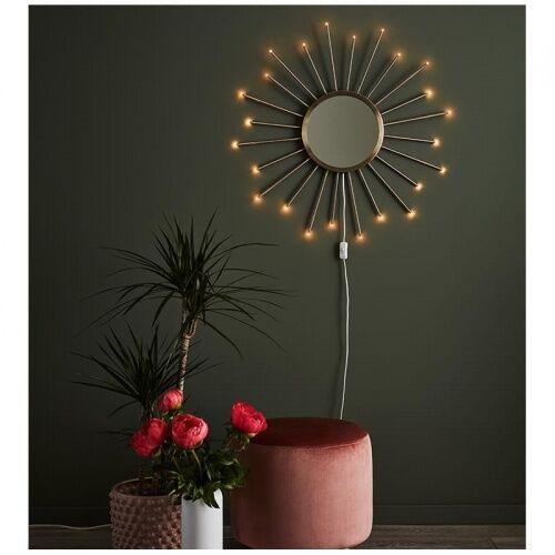Markslojd ==wysyłka 48h== 107770 dekoracyjna lampa ścienna blossom 107770 metalowa oprawa kinkiet