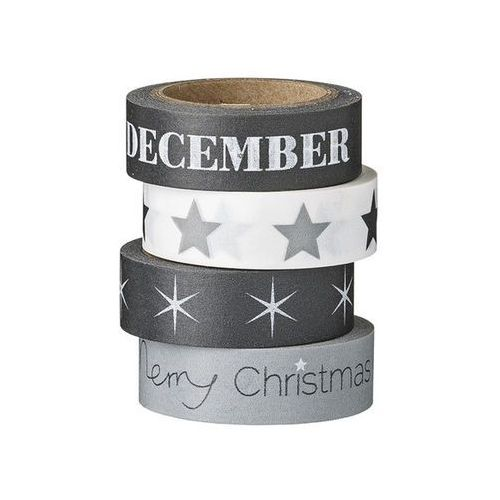 Bloomingville Taśma dekoracyjna washi tape december