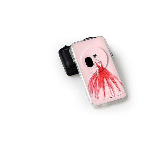Fantastic case - asus zenfone zoom - etui na telefon fantastic case - czerwona suknia wyprodukowany przez Etuo.pl
