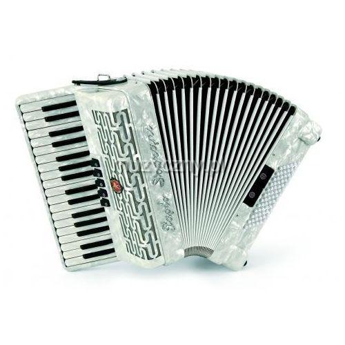 Paolo Soprani Studio 72 34/3/5 72/4/2 akordeon (biały perłowy) - produkt z kategorii- Akordeony