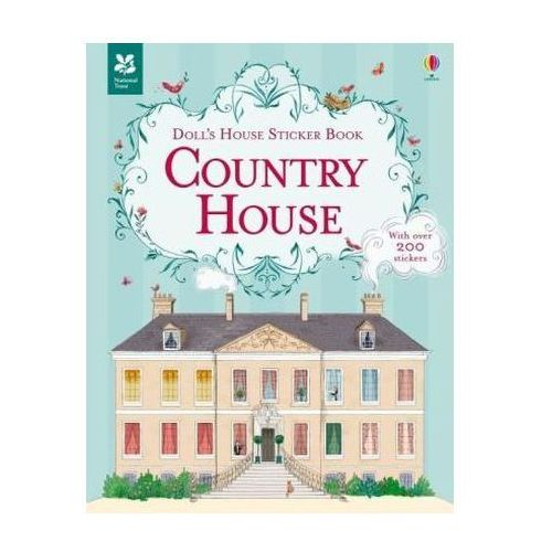 Doll's House Sticker Book Country House, Cullis, Megan