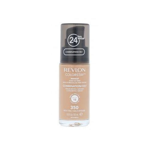 Revlon colorstay combination oily skin podkład 30 ml dla kobiet 350 rich tan