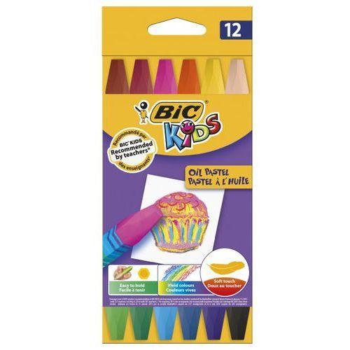 Pastele olejne 12 kolorów - rabaty - porady - hurt - negocjacja cen - autoryzowana dystrybucja - szybka dostawa marki Bic