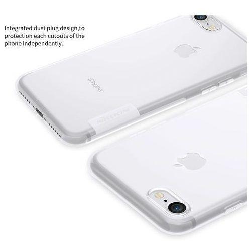 NILLKIN NATURE TPU iPhone 7 / 8 biały - biały, kolor biały