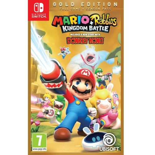 Ubisoft Mario + rabbids kingdom battle - edycja gold (3307216024507)