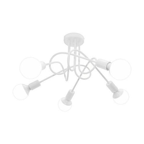 Lampa sufitowa oxford 5xe27/60w/230v biały marki Helam