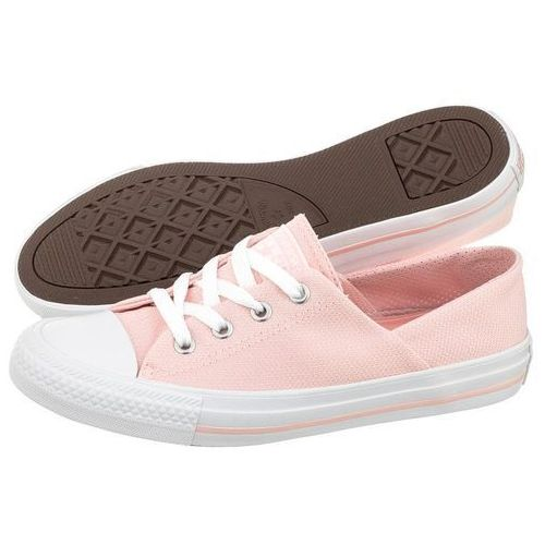 Tenisówki Converse CT All Star Coral OX 555895C Vapor Pink/White (CO304-b), kolor różowy