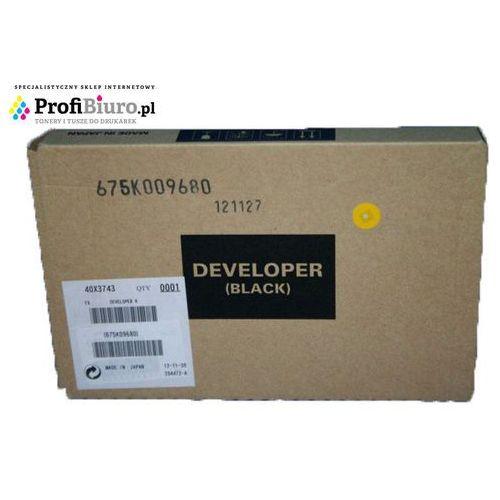 Developer Lexmark 40X3743 Black do drukarek (Oryginalny) z kategorii Pozostałe