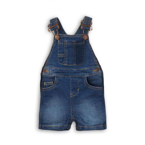 Minoti Spodnie chłopięce ogrodniczki 5n36ay