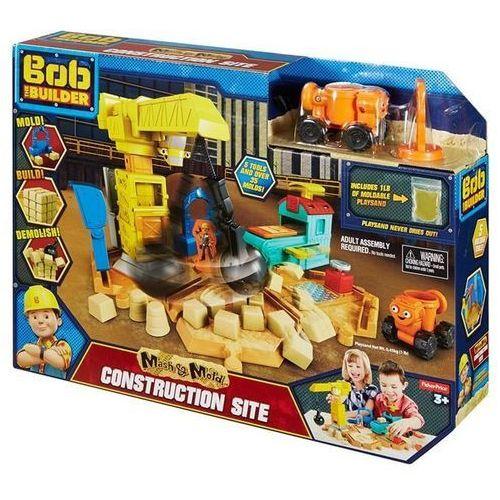 Bob budowniczy zestaw plac budowy + kinetyczny piasek izimarket.pl marki Mattel