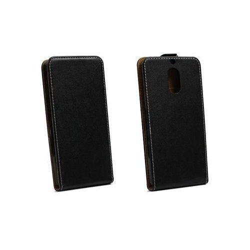 Nokia 6 - etui na telefon Forcell Slim Flexi - czarny, kolor czarny