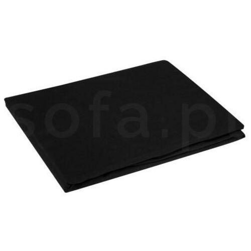 Prześcieradło nova 220x200+30cm czarne z gumką marki Sofa.pl