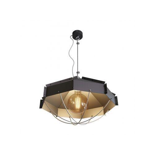 Cleoni Lampa wisząca rafi 450 czarna