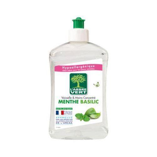 L'arbre vert 500ml mint basil koncentrat do mycia naczyń hipoalergiczny marki Novamex