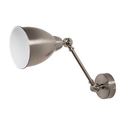 Beliani Lampa ścienna srebrna mississippi m (4260586352634)