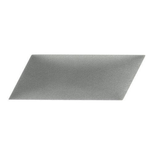 Stegu Panel ścienny tapicerowany mollis równoległobok 15 x 30 cm szary p