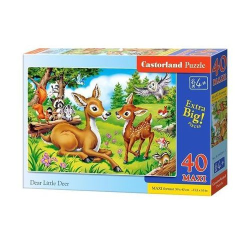 Puzzle Dear Little Deer 300 - Castor (5904438040261)
