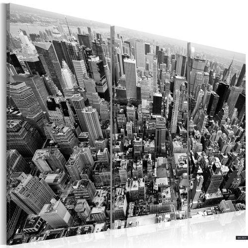 Selsey obraz - niesamowity widok na dachy nowego jorku 120x80 cm (5902622535487)